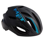 MET helm Rivale L 59-62 zwart/blauw