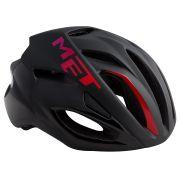 MET helm Rivale M 54-58 zwart/roze