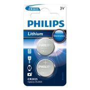 Philips batt CR2025 Lith 3V BP2