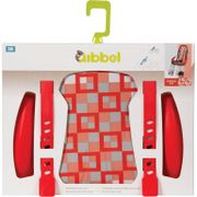 Qibbel stylingset luxe v checked rood