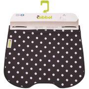 Qibbel windschermflap Polka Dot zw