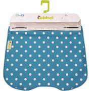 Qibbel windschermflap Polka Dot blauw