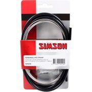 Simson remkabel Nexus RVS zwart