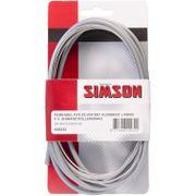 Simson remkabel Nexus RVS zilver