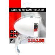 Simson kopl Holland batt aan/uit wit