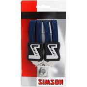 Simson snelbinder kort d blauw