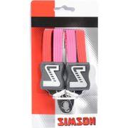 Simson snelbinder kort rd/roze