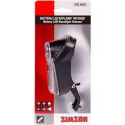 Simson led koplamp batterij voorvork intense 25 lu