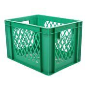 transport bagage krat groen