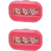 UP Clip Fietslampjes set Kreeft rood