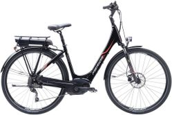 E-SPRESSO CITY 510 EQ BLACK/RED/WHITE 53CM
