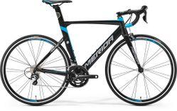 REACTO 300 MATT BLACK/BLUE/GREY L 56CM