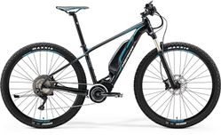 E-BIG NINE XT-EDITION MATT BLACK/BLUE/WHITE XL 53C