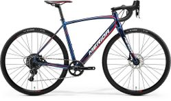 CYCLO CROSS 600 SHINY DARK BLUE/RED/WHITE XS-47CM