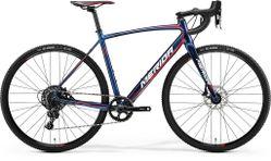 CYCLO CROSS 600 SHINY DARK BLUE/RED/WHITE L-56CM