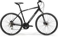 CROSSWAY 20 MATT BLACK/WHITE/GREY L