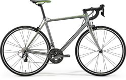 SCULTURA 300 SHINY DARK SILVER/GREY/GREEN S-M 52CM