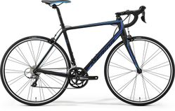 SCULTURA 100 MATT BLACK/BLUE XXS 44CM