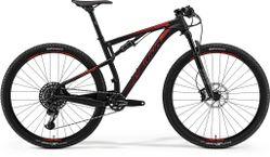 NINETY-SIX 9.800 MATT BLACK/SHINY RED M 18