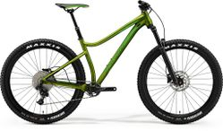 BIG TRAIL 500 MATT OLIVE/NEON GREEN L 19