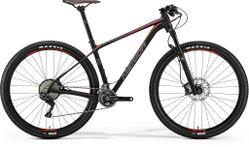 BIG NINE 700 MATT BLACK/RED/GREY L 19