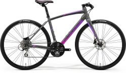 SPEEDER 100 JULIET MATT GREY/PINK/PURPLE XS 47CM