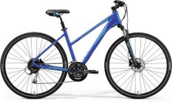 CROSSWAY 100 MATT BLUE/BLUE M 51CM LADIES