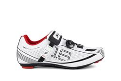 SPIUK SHOES 16R ROAD WHITE/BLACK