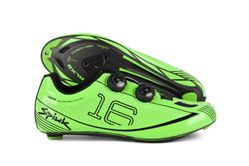 SPIUK SHOES 16RC ROAD CARBON GREEN
