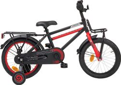 "LOEKIE PICK UP 16"" BOY BLACK/RED MAT"