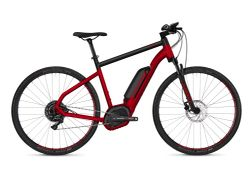 HYB Square Cross B4.9 AL U RED / BLK M