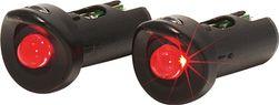 ACHTERLICHT XLC RACEBAR LED BATT IN STUUR SET A 2