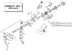 VERSD CA 10V R QUICKSHIFT RE/CH VEERHOUDER M/VEER