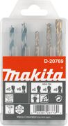 GRS MAKITA BOOR SET 1/4 5DLG