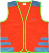 VEST WW NUTTY REFLECTIE KIND ORANJE XS