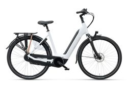 BATAVUS FINEZ E-GO POWER DN8 PARELMOERWIT 57 NO BATT