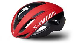SW EVADE II HLMT ANGI MIPS CE TEAM RED/BLK L
