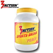 3 ACTION SPORTS DRINK 1KG - PEACH