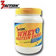 3 ACTION WHEY PROTEIN VANILLA