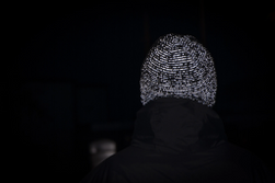 SS WATERPROOF COLD WEATHER REFLECTIVE BEANIE S/M