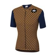 SF CHECKMATE JERSEY-BLUE TWILIGHT GOLD-L