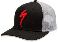 SPEC TRUCKER HAT S-LOGO BLK/GRY OSFA