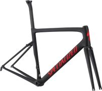SPEC TARMAC MEN SL6 PRO FRMSET BLK/FLORED 58