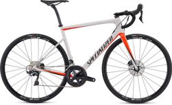 SPEC TARMAC MEN SL6 COMP DISC WHTSIL/RKTRED/BLK 54