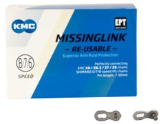 KMC missingLink 7/8R EPT silver 7,3mm (40)