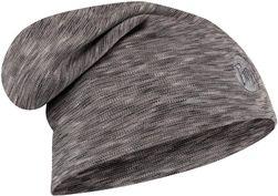 BUFF HW Merino Hat Fog Grey Multi Stripes