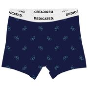 BOXER BRIEFS KALIX BIKE PATTERN - NAVY M