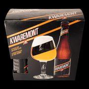 KWAREMONT GESCHENKVERPAKKING 4X33CL + GLAS