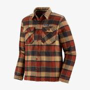 PAT M' INSULATED FJORD FLANNEL JKT BURNISHED RED L
