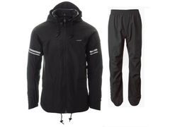 Agu original rain suit black l